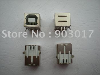 Female USB Socket Right Angle PCB Connector 4 pin  BF90 20 pcs per lot Hot Sale Buy it now!