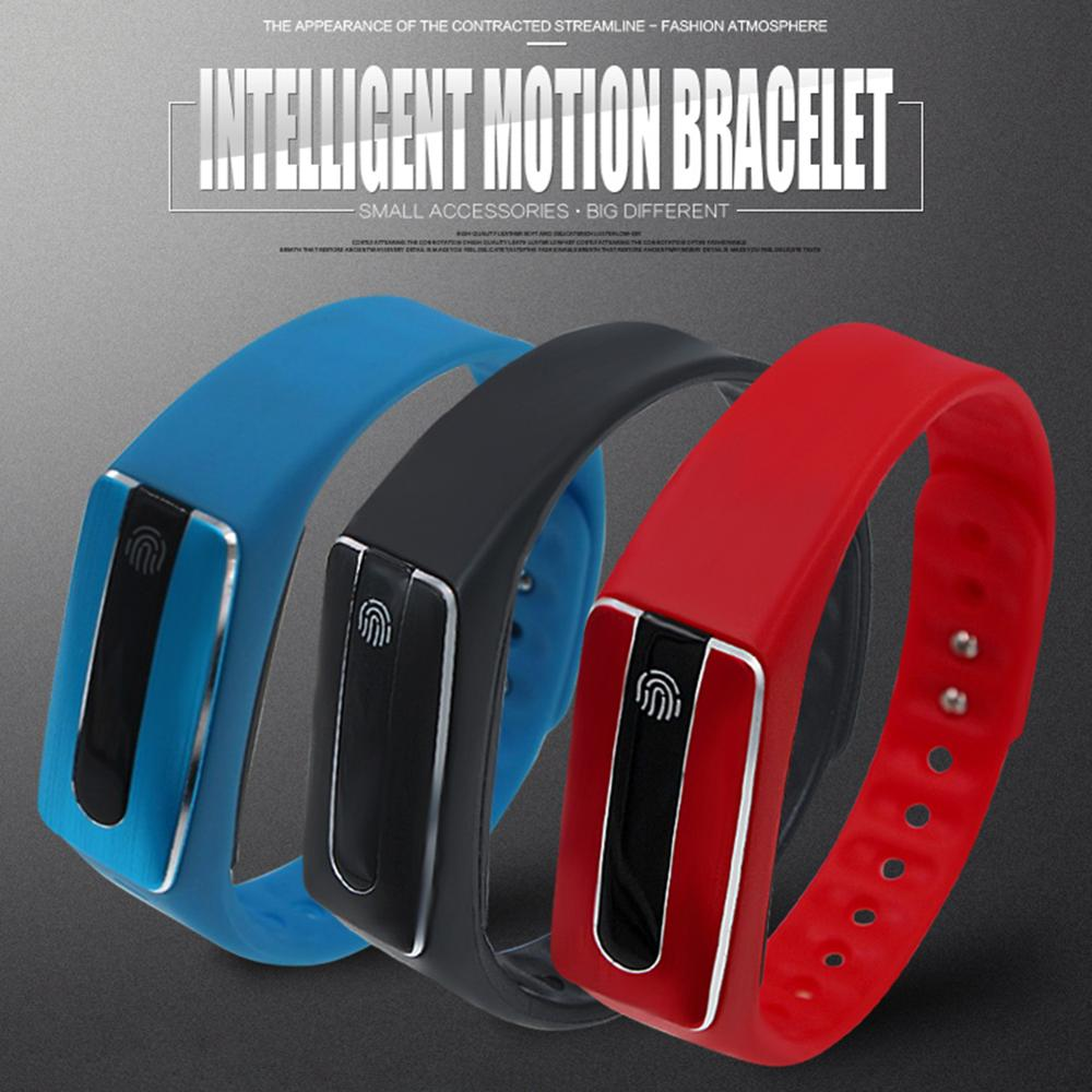 HB02 Bluetooth 4.0 Sport Smart Bracelet Wrist Band Heart Rate Function For IOS & Android Smartphone double-sided USB charging(China (Mainland))