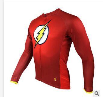 Hot sale 2014 Flash Mens Red cycling jersey Biking Shirt Rider Sportswear S-3XL Cycling Short Sleeves Clothes(China (Mainland))