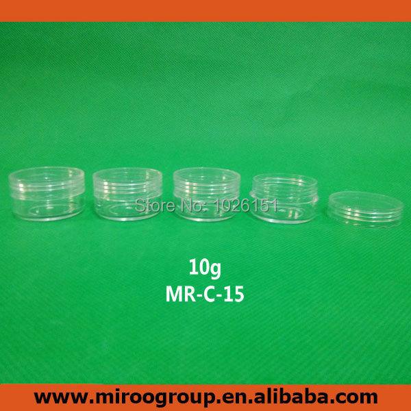 Fedex Free Shipping 232pcs DIY 10ml 10g cream jar 10g cosmetic cream container sample jar 10g