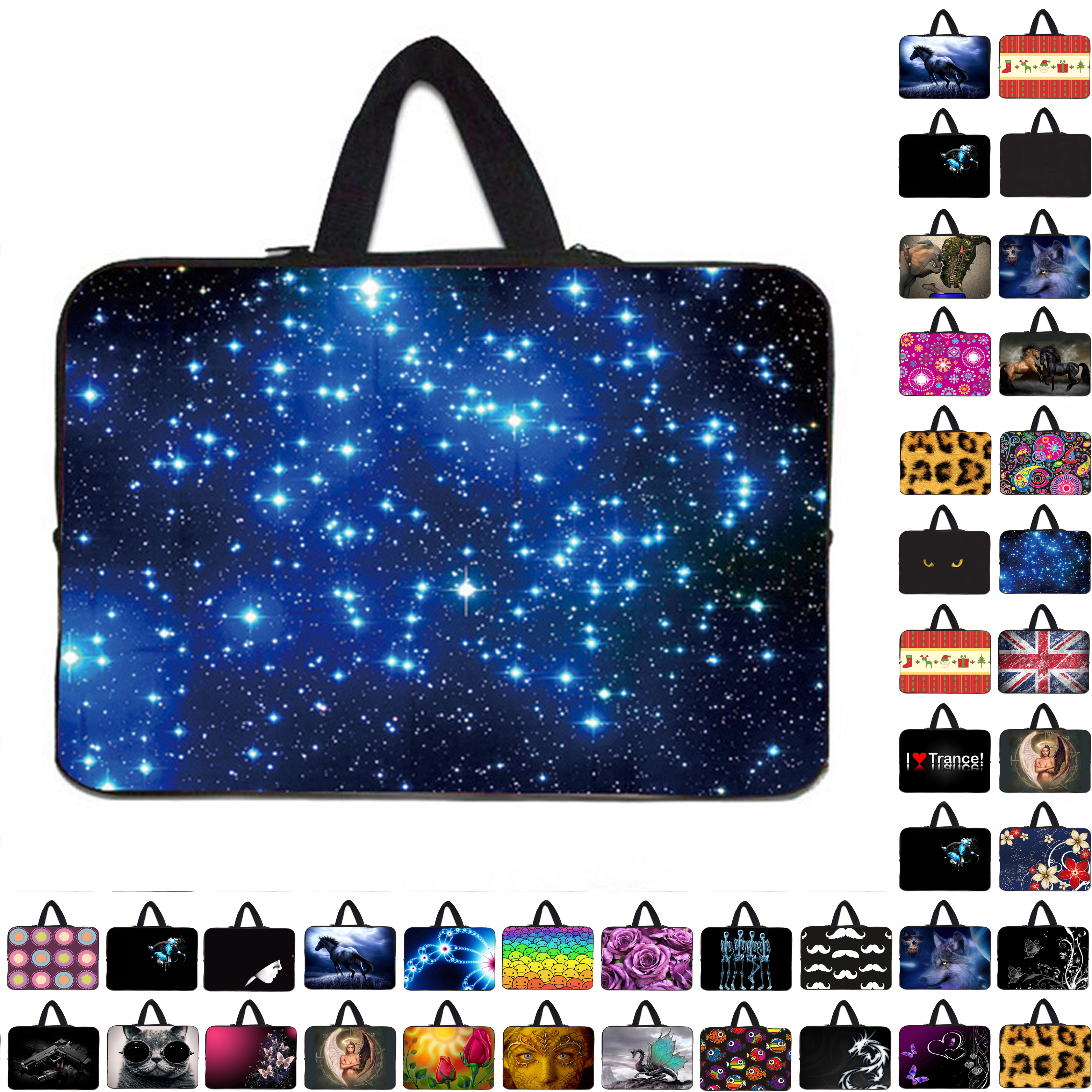"""Waterproof Notebook PC Sleeve Bag Carry Cases Cover Pouch Protector For 7"""" 10"""" 12"""" 13 14 15 15.4 17 inch Computer Laptop PC(China (Mainland))"""