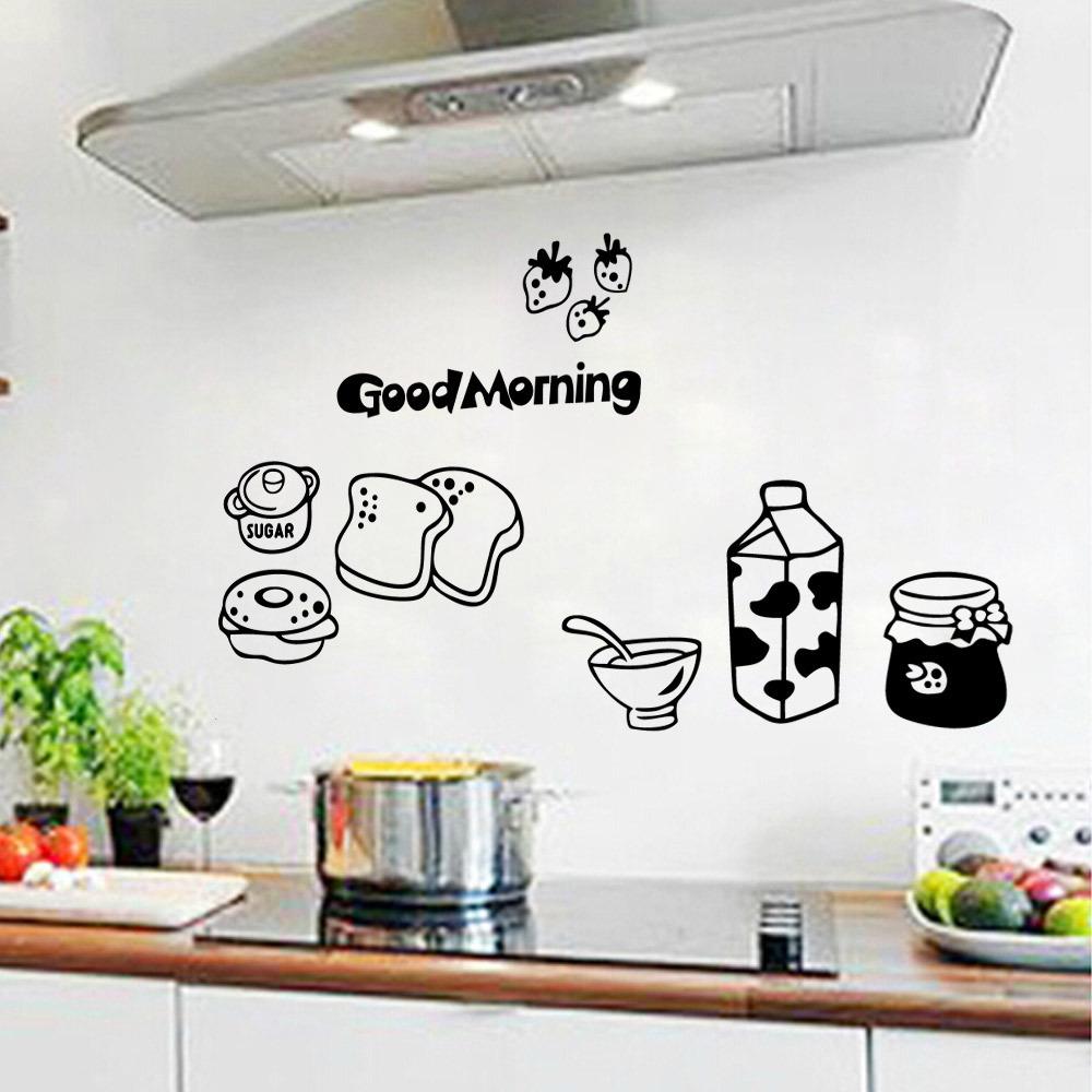 Bread and Milk Kitchen Refrigerator Living Room Bedroom