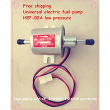 Envío libre gasolina gasolina 12 V bomba eléctrica de combustible diesel HEP-02A bomba de combustible de baja presión para el carburador, motocicleta, ATV(China (Mainland))