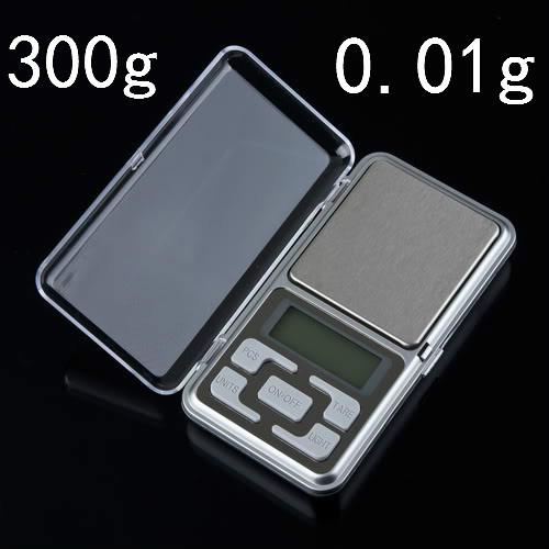 NEW 1pcs mini 0.01 x 300g Portable Small Mini Digital Jewelry Pocket Gram Scale(China (Mainland))