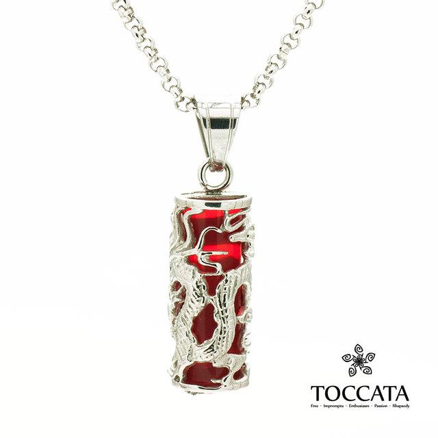 Long zhu agate necklace male necklace titanium steel male pendant accessories