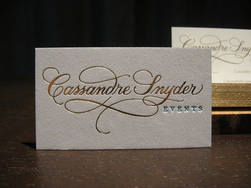 2015 Custom Letterpress Card Gold Foil Business Cards Printing Debossed Visit Card 600gsm White Cardboard A4 Paper Free Shipping(China (Mainland))