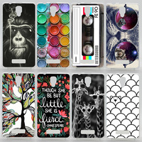 Case For Lenovo A1000 Colorful Printing Drawing Plastic Cover for Lenovo A 1000 Fashion Hard Phone Cases