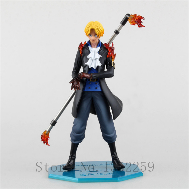 Action figure toys One piece Sabo PVC action figure toys 25cm(China (Mainland))