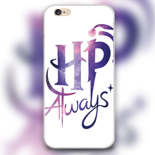 Harry Potter Always Design black skin case cover cell mobile phone cases for Apple iphone 4 4s 5 5c 5s 6 6s 6plus hard shell
