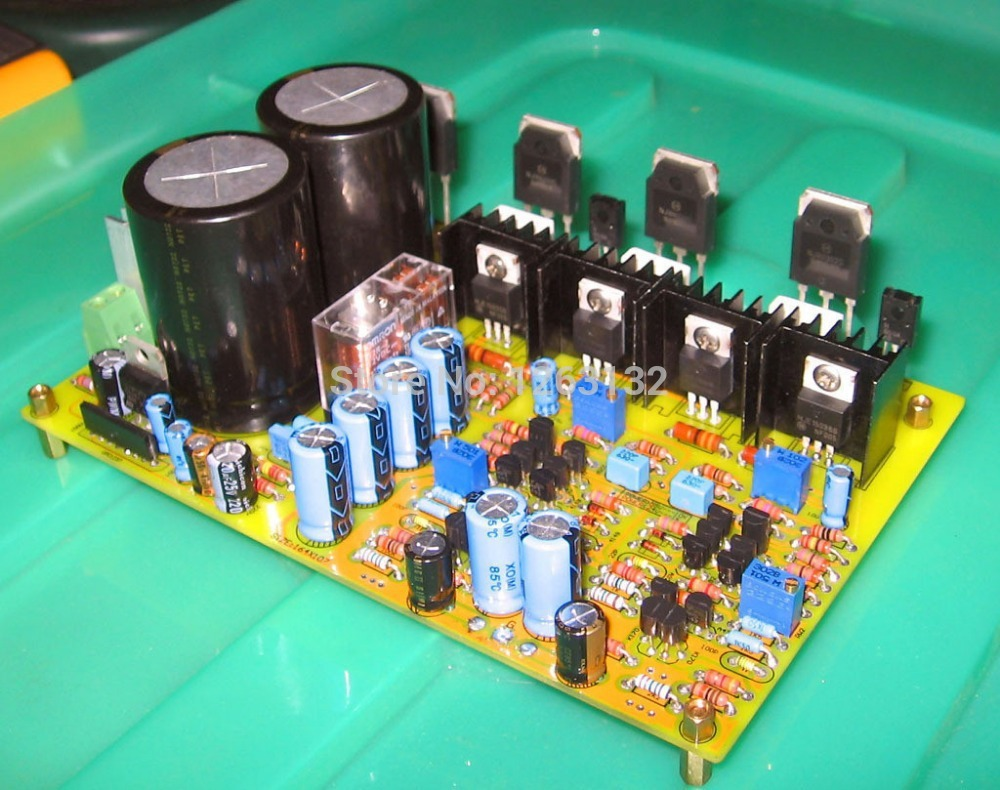 M7 - FET input voltage constant current source load single difference amplifier power amplifier kit(China (Mainland))