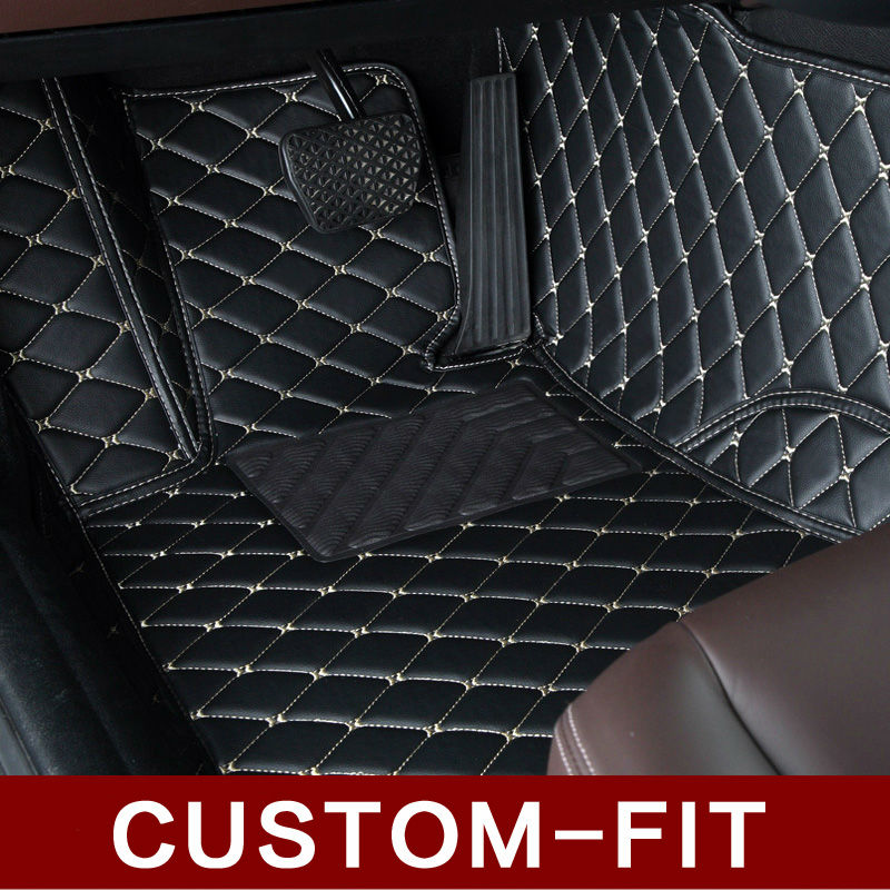 Custom 100% fit car floor mats For BMW X3 E83 F25 PVC Leather car styling rugs carpet all weather waterproof liners(2004-present(China (Mainland))