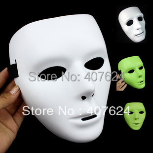 30pcs/Lot Free shipping Hiphop Jabbawockeez mask Men Model 48g BOYS PVC performance Mask(China (Mainland))