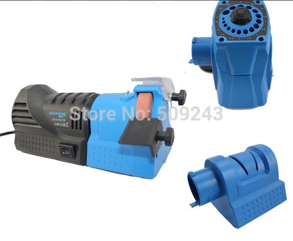 New 220V 110W Easy Multifunction Combination Electric Sharpener for grinding drill turning tool chisels knives scissors etc.(China (Mainland))