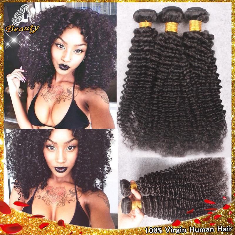 Best Malaysian Kinky Curly Hair Weave 3pcs Lot,Kinky Curly Virgin Hair Bundles,Afro Kinky Curly Human Hair Extension Cheap Hair(China (Mainland))