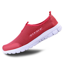 Summer Couple Casual Shoes Fashion Lazy Mesh Network Shoe Men Women Foot Wrapping Big Size 35-46 Slip-on Breathable Shoe XMR199(China (Mainland))