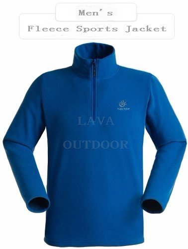 Very Low Price Free Shipping Thermal Breathable Perspiration WindProof Anti-Static Lightweight Men's Winter Sports Fleece Jacket