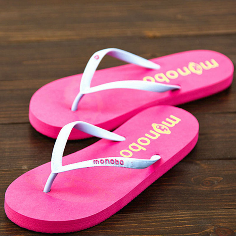New fashion brand non slip stripper shoes home women flip flops flat soft bottom summer beach slippers women casual sandals(China (Mainland))