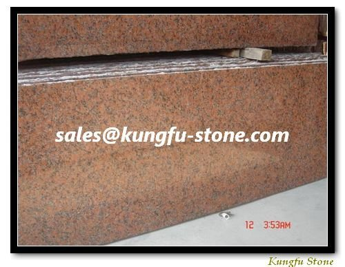 Garden Red Granite G562 Slab+Fine Shipping Charge+ Installation Advises