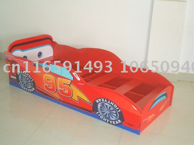 Twin car bed