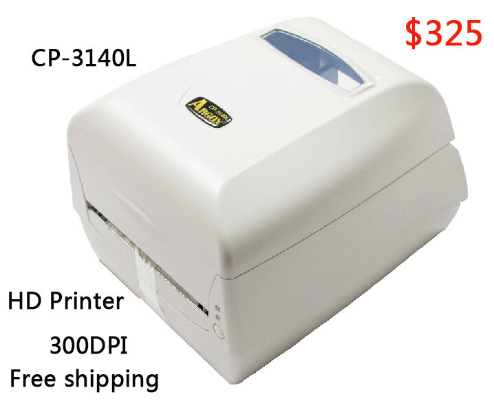 Free shipping Argox CP-3140 300DPI label printer working for Jewelry label, clothing tag, PET/PVC label<br><br>Aliexpress
