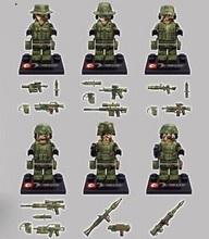 SY11101 Building Blocks Super Heroes Avengers Soliders Minifigures Falcon Commandos Marine Corps Bricks Mini Figure Children Toy(China (Mainland))