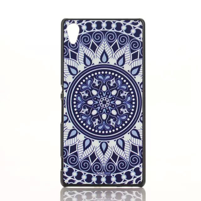 Fashion Printed Pattern Hard PC Back Cover Case For Sony Xperia Z4(China (Mainland))