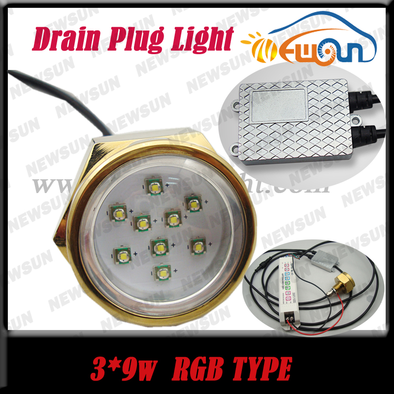 RGB Color Change led Underwater Lights for Yacht High Quality 27W LED Marine Light IP68 Underwater Marine Yacht Boat Drain Light<br><br>Aliexpress