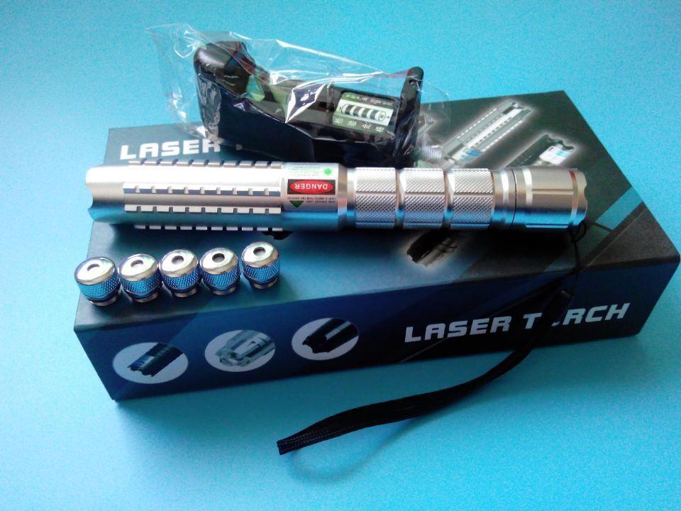 Fxlaser High Power Focusable Green Laser Pointer 20000mw