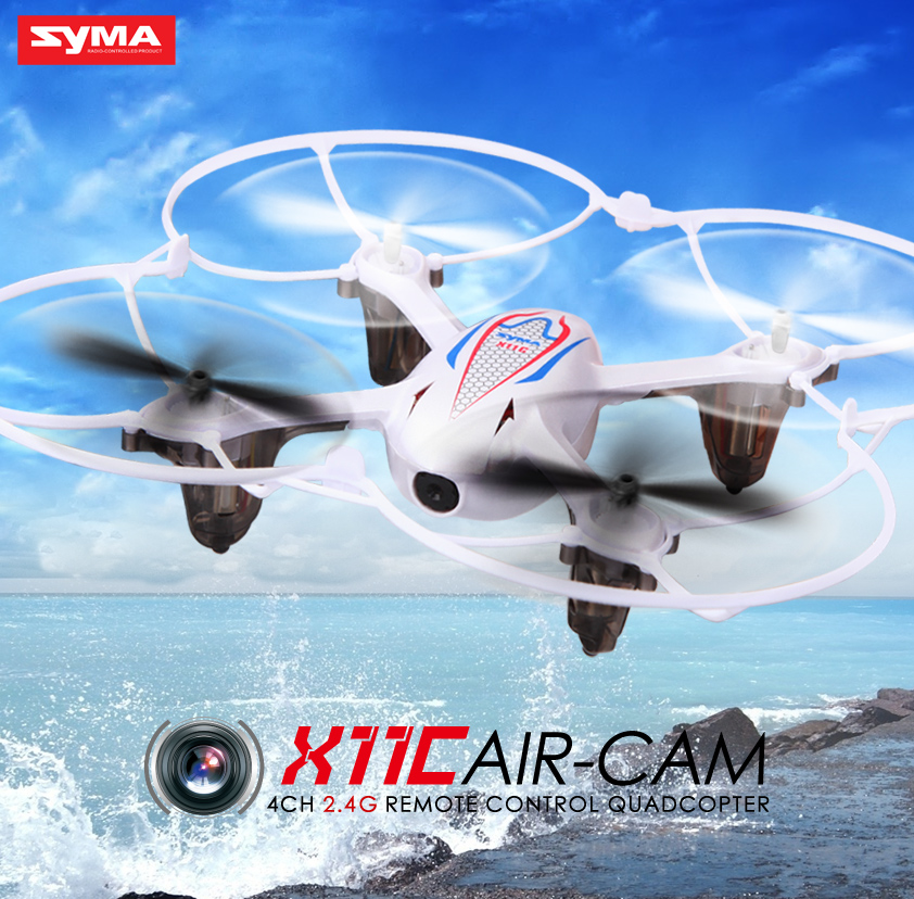 100% Origina SYMA X11C 2.4G 4CH 6 AIXS GYRO 3D Mini Drone With HD Camera Quadcopter VS syma x5c x8c x5sw Dron High Quality Toys