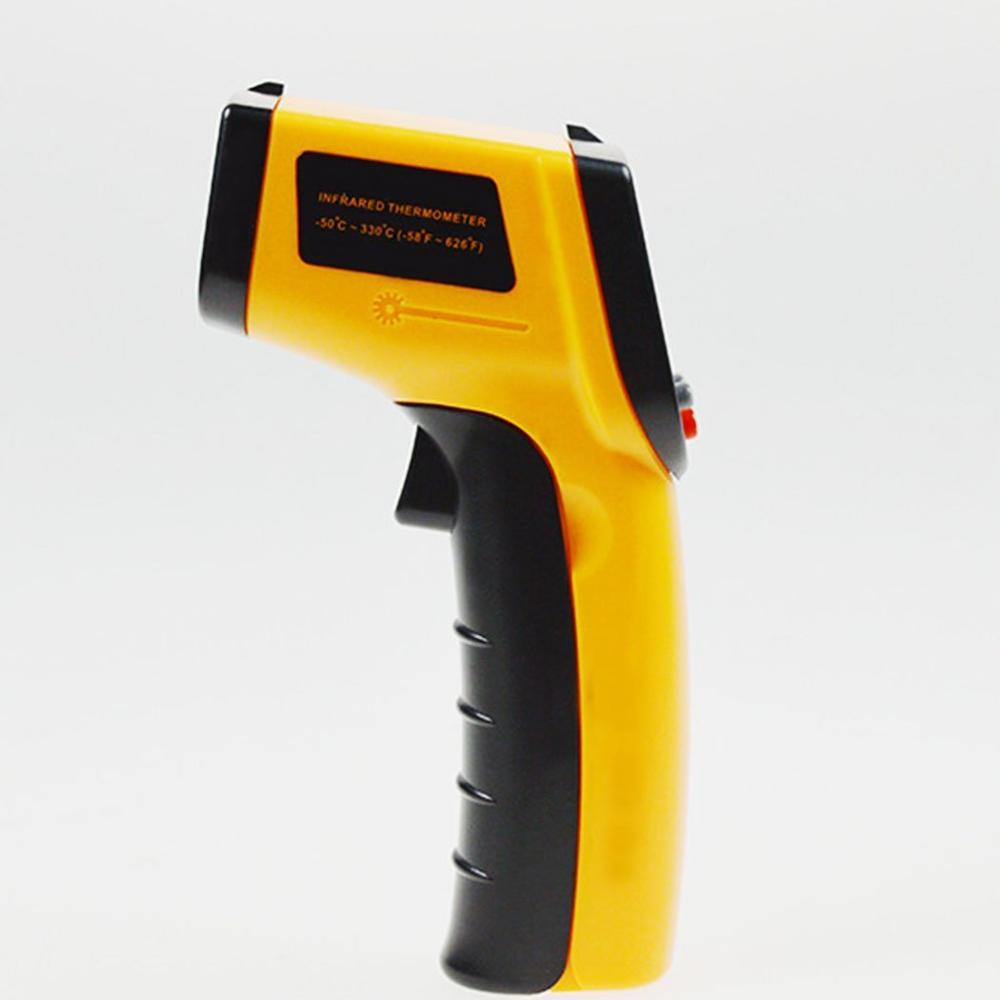 Precise Non-Contact IR Infrared Digital Thermometer Temperature Laser Gun Tester Range -50~330 Degree with LCD Display(China (Mainland))