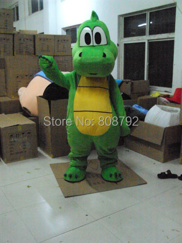 New super mario and Luigi Yoshi costume adult plush mascot costume character costumes christmas party