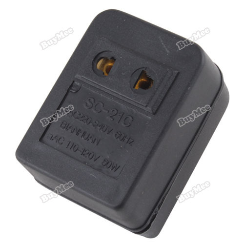 trad new fashion brand! New 50W US AC Power 220V To 110V Voltage Travel Converter Adapter hottest(China (Mainland))