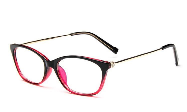 2016 Brand Design Diamond Spectacle Frame Women Eyeglasses Frames Women Computer Reading Optical clear lens Frame Eye Glasses (21)