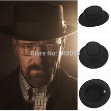 2015 Fashion Men Classic Felt Pork Pie Porkpie fedora Hat Chapea Cap Upturn Masculino Black Ribbon Band panama hats Freeshipping(China (Mainland))