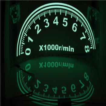 Green Gift Rhythm gift Glow Car Music Sticker Light Pretty Sound LED Light LemonBest Activated EL Sheet Equalizer Flash Panel(China (Mainland))