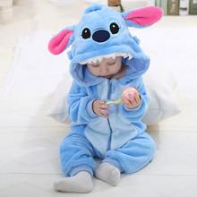 Christmas baby rompers мальчик в девочке Синий Стежка Животных Комбинезон Мультфильм Комбинезон Дети Пижамы Hello kitty panda Одним Pieces(China (Mainland))
