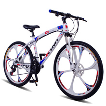 Soft Tail Frame Double Disc Brake Mountain Bike 21 Speed 26 Inch Magnesium alloy One Wheel Bicycle for Young Men  YZS014
