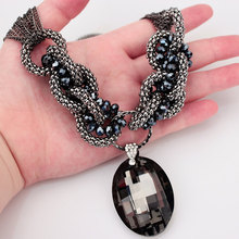 Buy New Fashion Jewelry Accessories Charm Big Crystal Choker Necklace Collares Statement Necklaces Pendants Women for $5.60 in AliExpress store