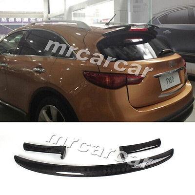 Carbon Fiber Rear Roof Spoiler Wing Lip Fit For Infiniti FX S51 FX35 FX50 09-12<br><br>Aliexpress