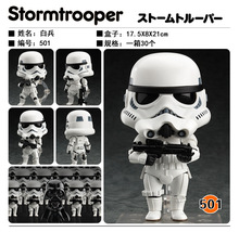 Newest Star Wars Nendoroid Stormtrooper #501 Darth Vader #502 Movable Action Figure Collection Model Toys star wars figure 10cm