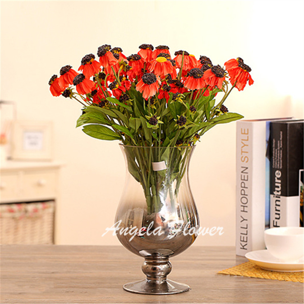 Buy cute mother chrysanthemum silk daisy Artificial flower decoration for home