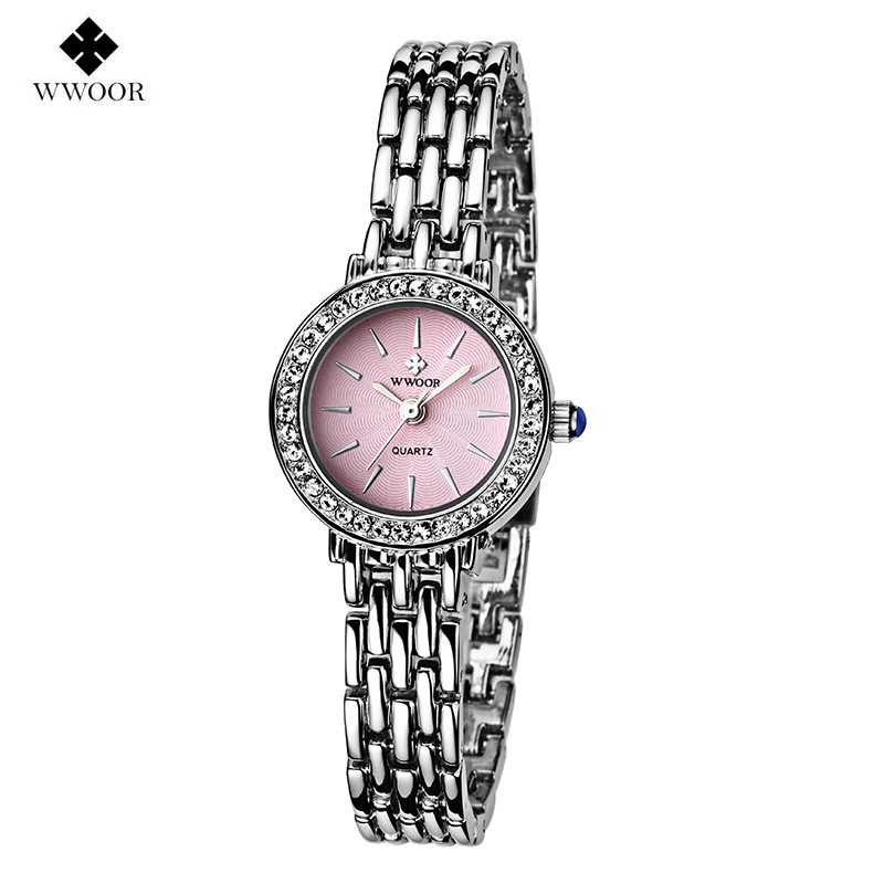 Famous Brand Silver Casual Quartz Watch Women Watches Bracelet Stainless Steel Dress Relogio Feminino Fashion Clock - Global online trade . store