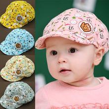 New Fashion Children Baby Boys Girls Summer Sun Hats Baby Kids Toodler Boy Girl Girls Cotton Hat Sun Baseball Cute Cap 4 Colors