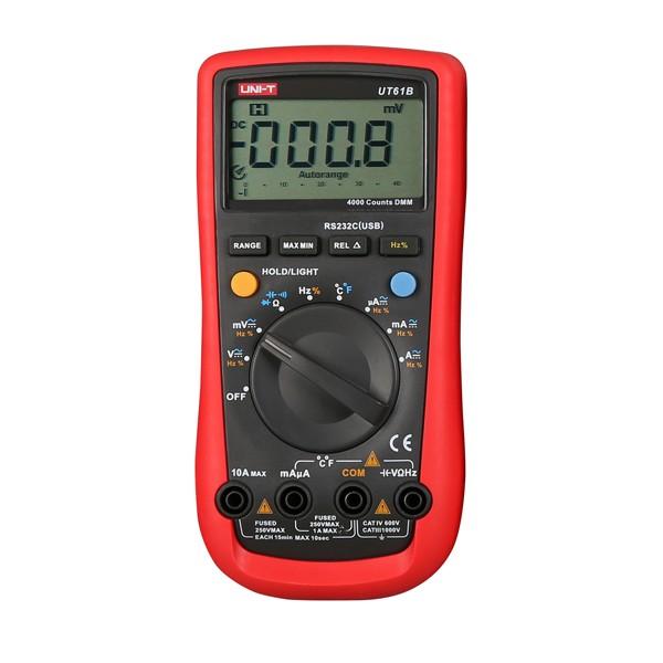 Фотография High Quality Digital LCD Auto/Manual Ranging Modern Digital Multimeter AC DC Meter Test Current BG44