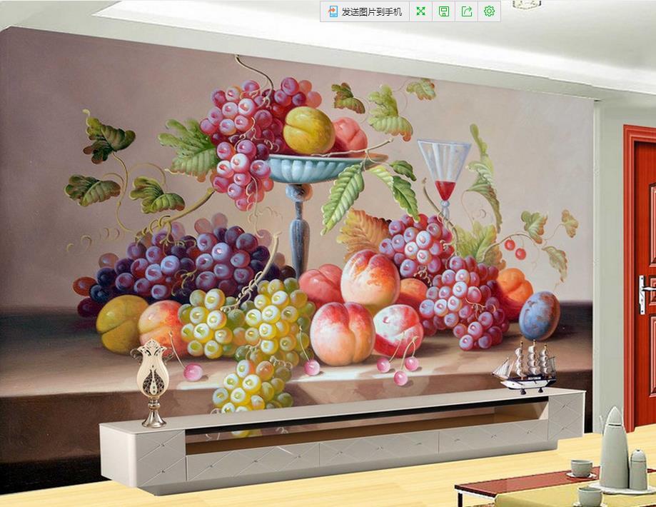Promoci n de la definici n de la fruta compra la for Pintura decorativa efeito 3d