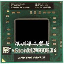 Original pour AMD ordinateur portable Mobile A10 4600 M A10-4600m QS / ES Socket FS1 CPU 4 M Cache / 2.3 GHz / Quad - Core processeur livraison gratuite(China (Mainland))