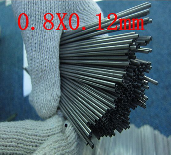 0.8X0.12mm,304 321 316 thick wall or thin wall small tube corrosion resistance to acid and alkali Capillary stainless steel pipe<br><br>Aliexpress