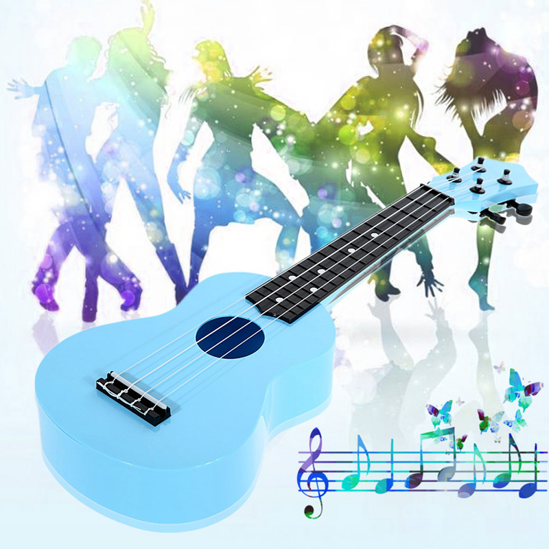 Free Shipping High Quality Professional 21 Acoustic Ukulele Musical Instrument kids&amp;adult musical instruments blue<br><br>Aliexpress