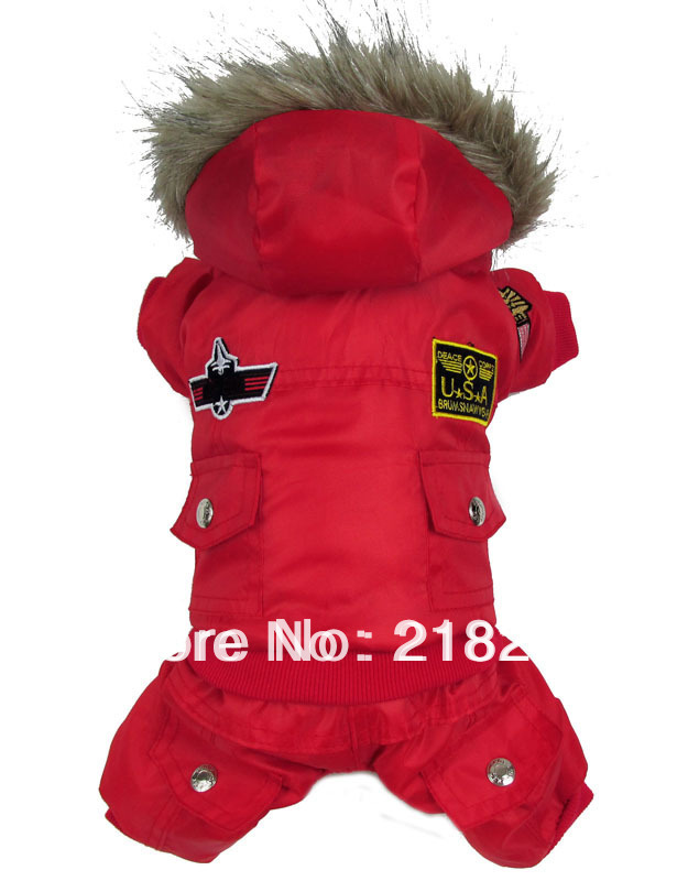 Retail New Coming Thick Warm Air Man Style Pet Dogs Winter Coat Free Shipping By china post 2013 new clothing for dog(China (Mainland))