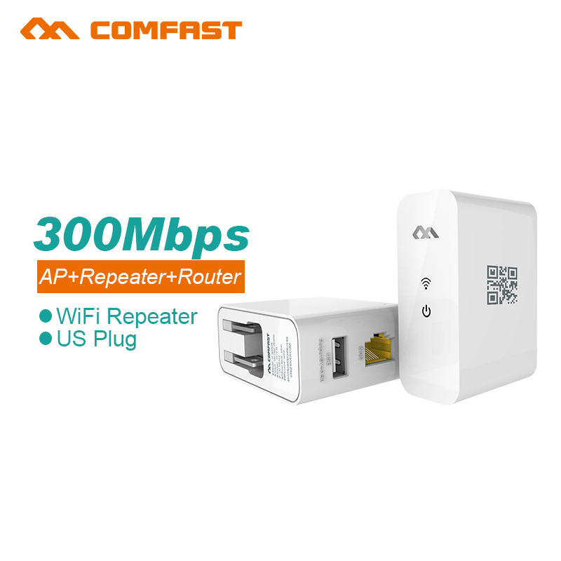Free shipping Wireless-N Wifi Router AP Repeater Booster Amplifiernt Bridge IEEE 802.11 b/g/n 300Mbps US Plug Wi fi Roteador(China (Mainland))